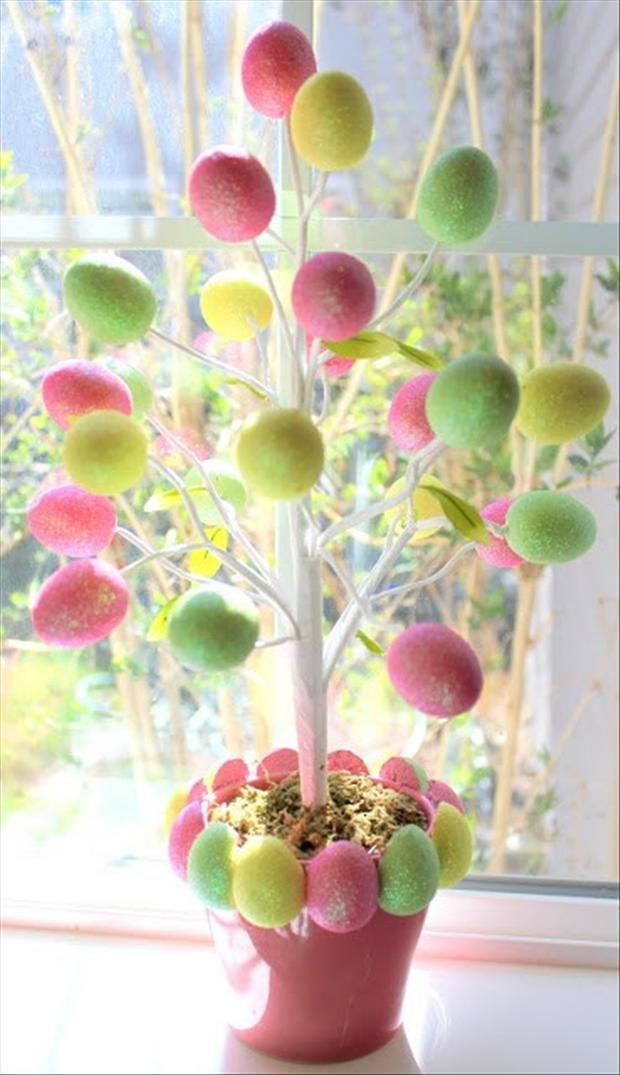 33 impressive diy easter decorations QULDOWH
