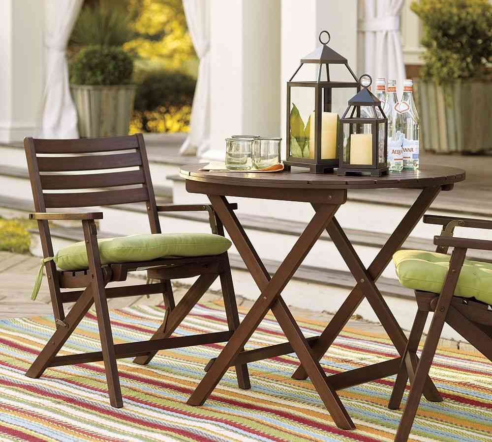 accessories for a garden furniture Set wood small patio furniture sets AUXKIBE
