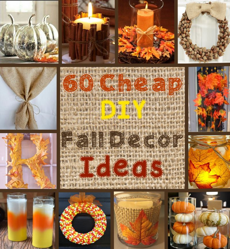 autumn decorating ideas 60 cheap diy fall / autumn decor ideas KAKNKJS