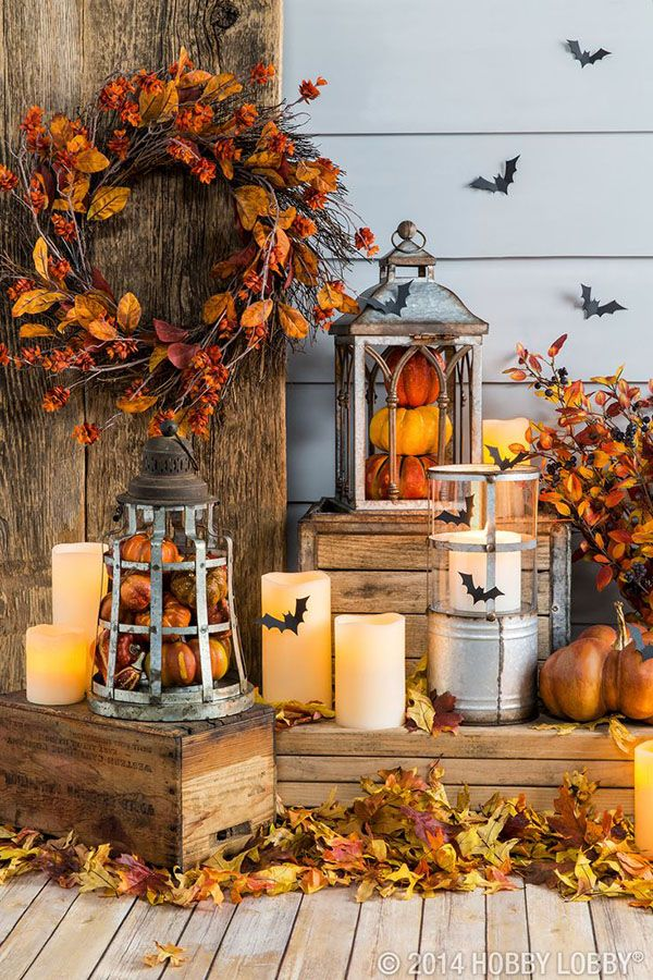 autumn decorating ideas fall front porch halloween decorations UUPMTSR