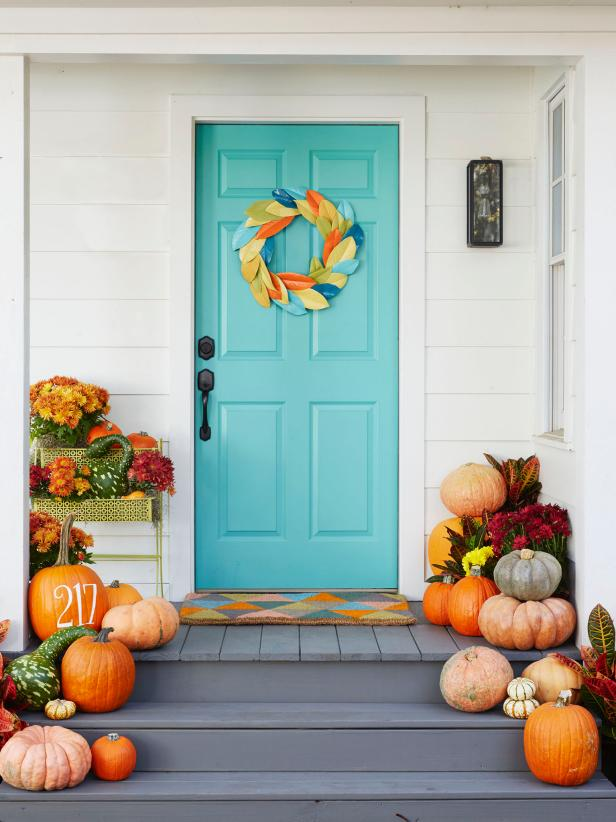 DIY ideas for autumn decorating and accessories