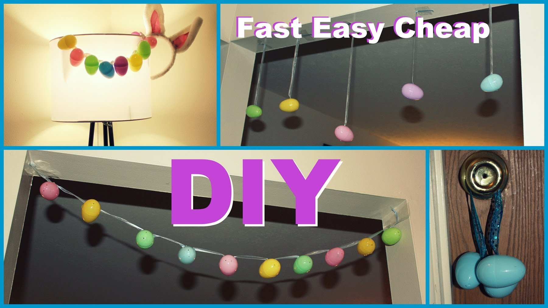 cheap easy easter decorations diy easter decorations - easy. fast. cheap. - youtube PWVYWBA