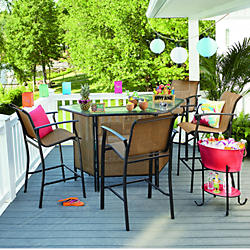 Cheap patio furniture bar sets IYPDIRH