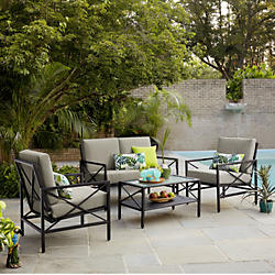 Cheap patio furniture casual seating sets SURVALA