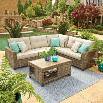 Cheap patio furniture outdoor furniture sets for the patio - samu0027s club ZCVOKYN