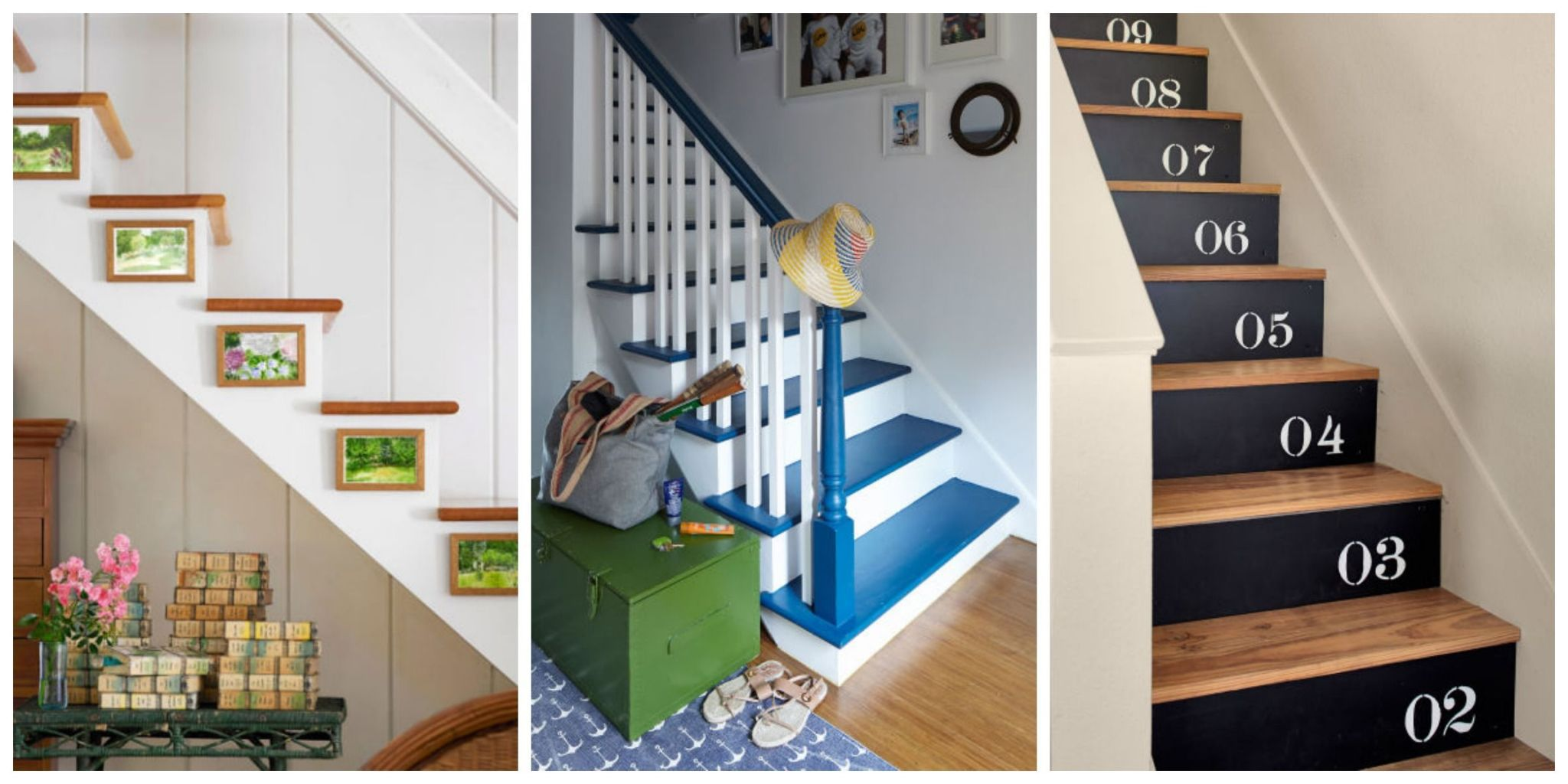 decorate stairs ideas ... but that doesnu0027t mean your stairway canu0027t get the same decorating RMUYLKU