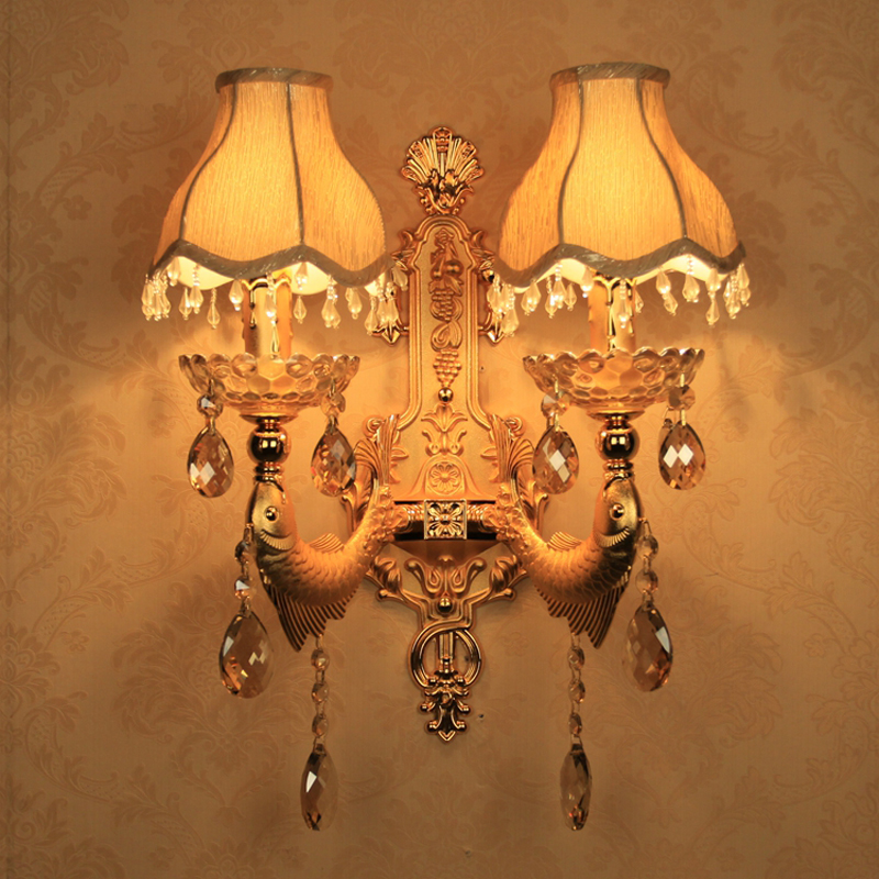 decorative wall lamps home led mirror lights wall lamp crystal wall decoration interior wall IISACAZ