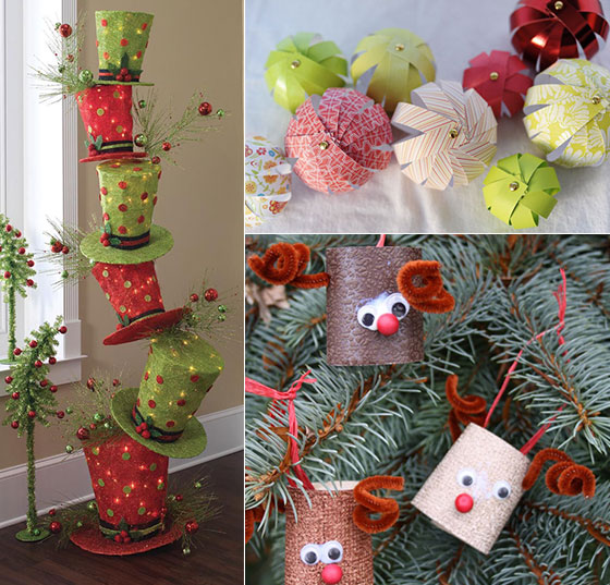 diy ideas for christmas decorations 16 creative diy christmas decorations ideas YLPQGRF