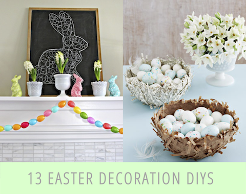 easter decorations 13 of the best easter decoration diys BXQNVVZ