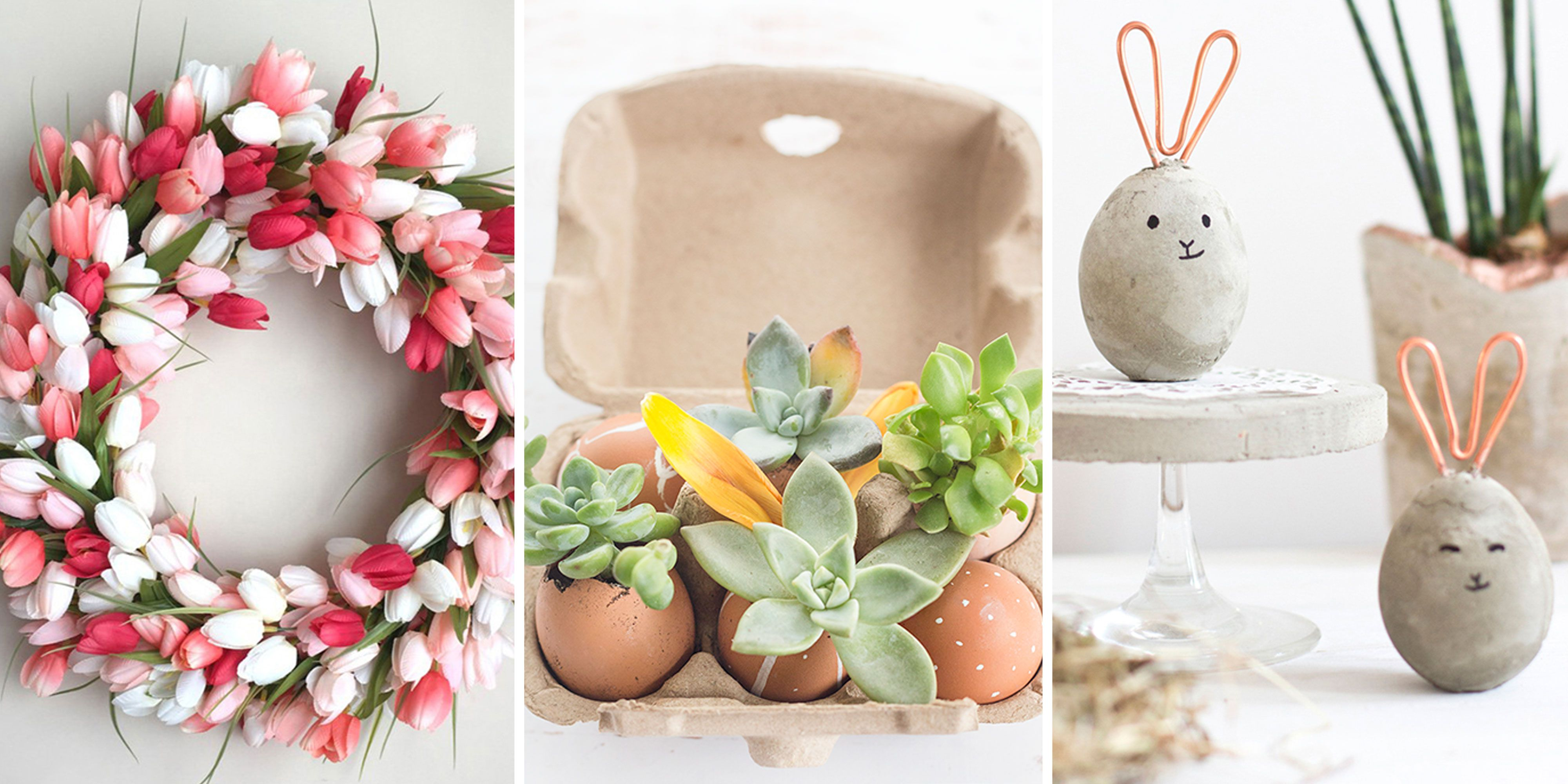 With simple Tricks to make your natural Easter decoration