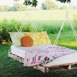 Luxury Designer Floating Bed for Garden