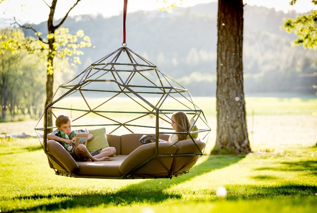 Floating Bed for garden hanging bed CSMTBEQ