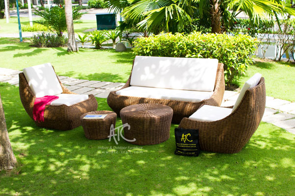 Garden furniture made of poly rattan maintain u0026 care for outdoor synthetic rattan furniture XOCIRLE