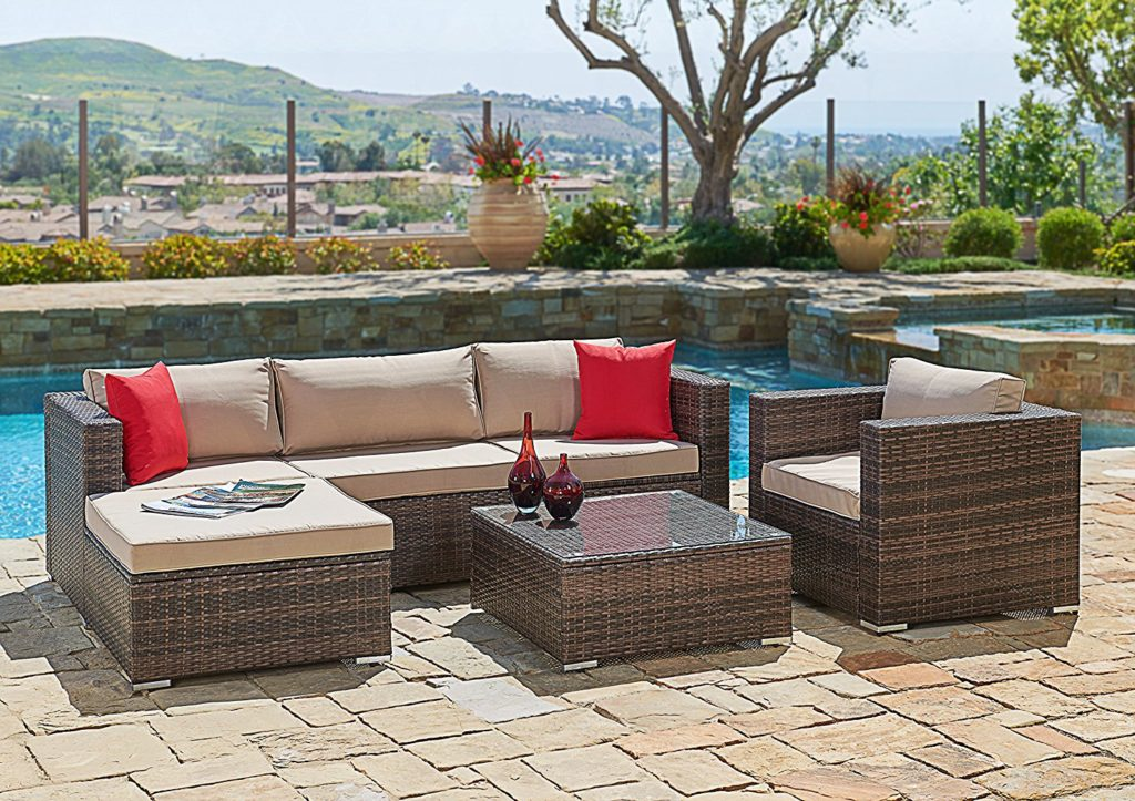 Garden furniture made of poly rattan rattan garden furniture XAWUHPP