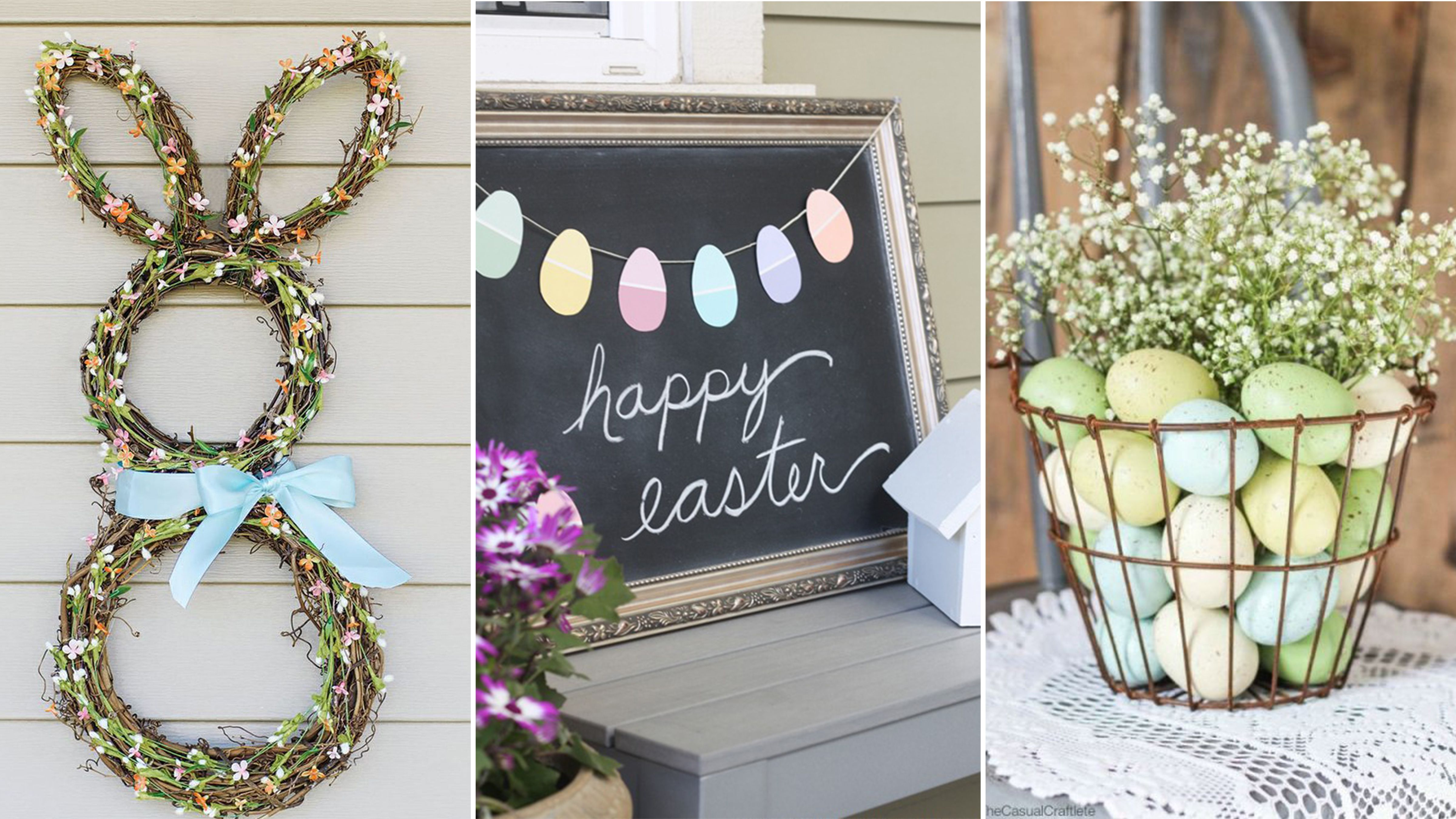homemade easter decorations WXQMTTA
