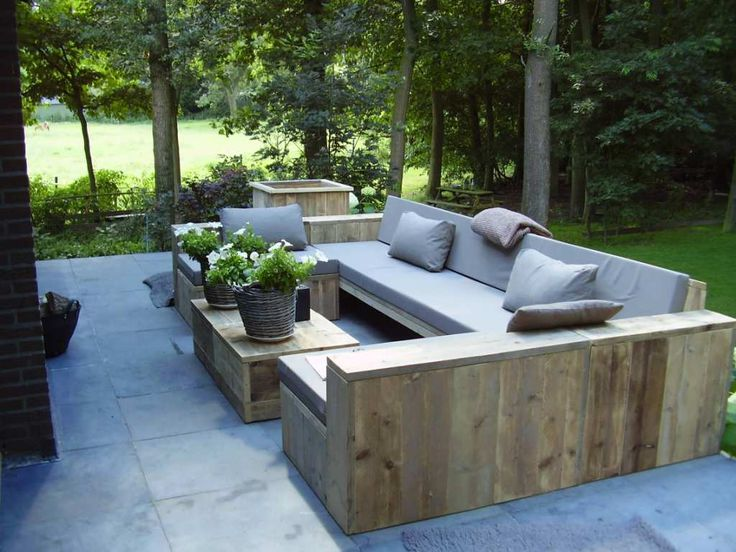 Lounge furniture for the garden ... garden furniture wood lounge attractive wooden outdoor lounge furniture  17 HDNGKGE