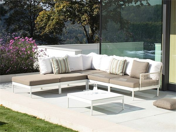 Lounge furniture for the garden view in gallery QLKAZMO