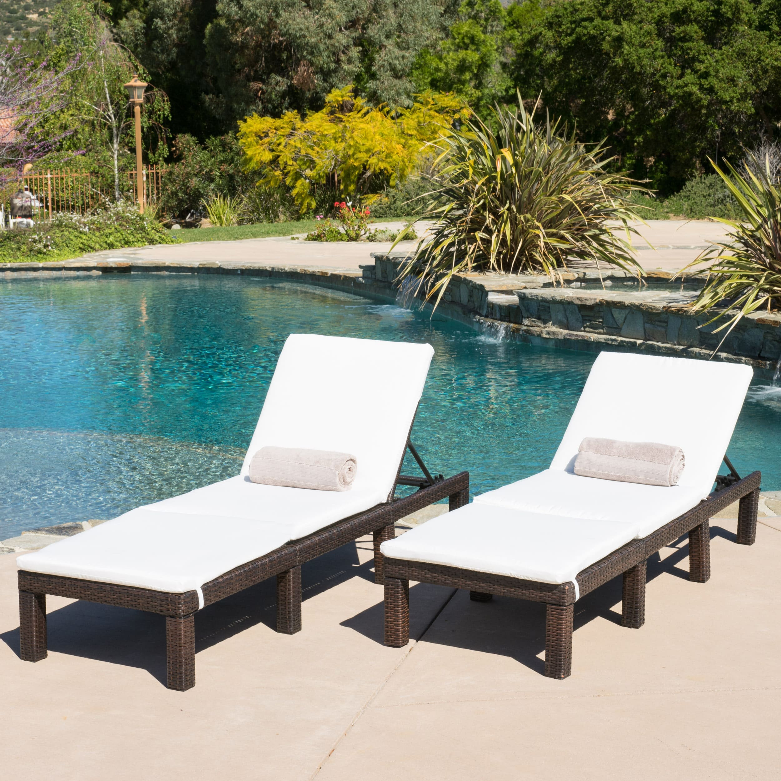 Lounge Garden Furniture buy outdoor chaise lounges online at overstock.com | our best patio UDBEPOM