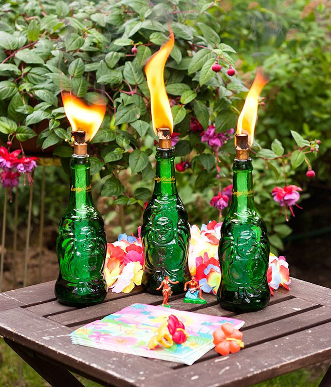 outdoor tiki decor new diy lucky buddha tiki torches decor outdoor summer UWXWBOS