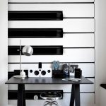 Creative sound panel shelves for musical decoration