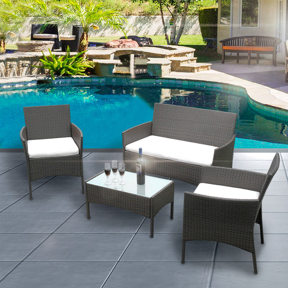 polyrattan Lounge Seating group 1 of 8free shipping ... FUWWUAW