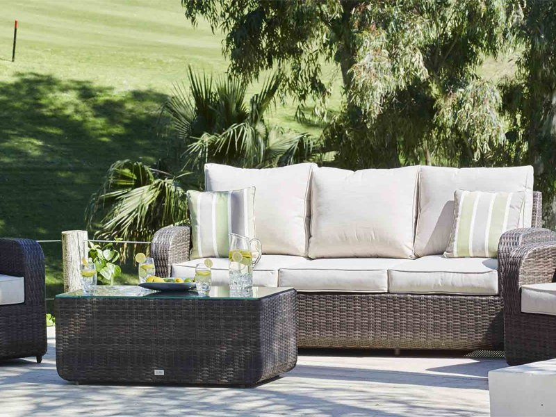 Rattan Seating Group direct wicker perillo 4 piece rattan sofa seating group set with cushion FBPDBXO
