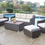 A Rattan Seating Group