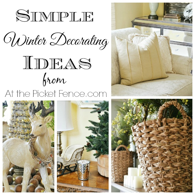 simple winter decorating ideas LCDQOZP