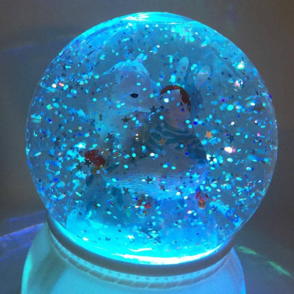 snow globe childrenu0027s snowglobe night light WUQPFSF