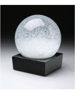 snowball snow globe by cool snow globes, black WCFCUYV
