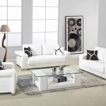 Create a white living room: stylish furnishing examples and tips