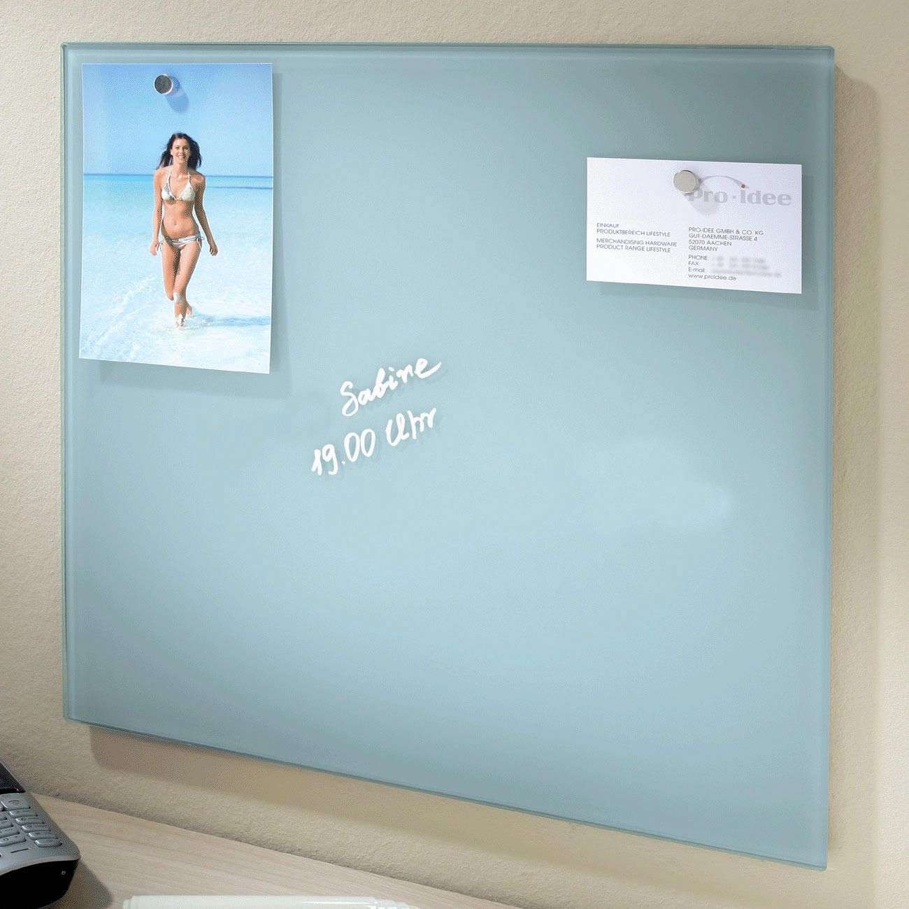 Glass Magnetic Board magnetic glass board finally a notice board in a cool design. BUXGFLL