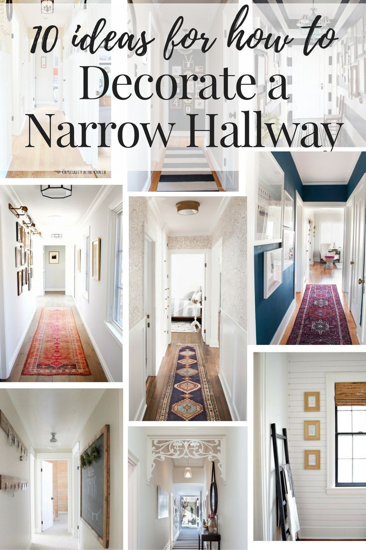 hallway decorating ideas inspiration and ideas on how to decorate your narrow hallways! this post  rounds up 10 HHJRQTG