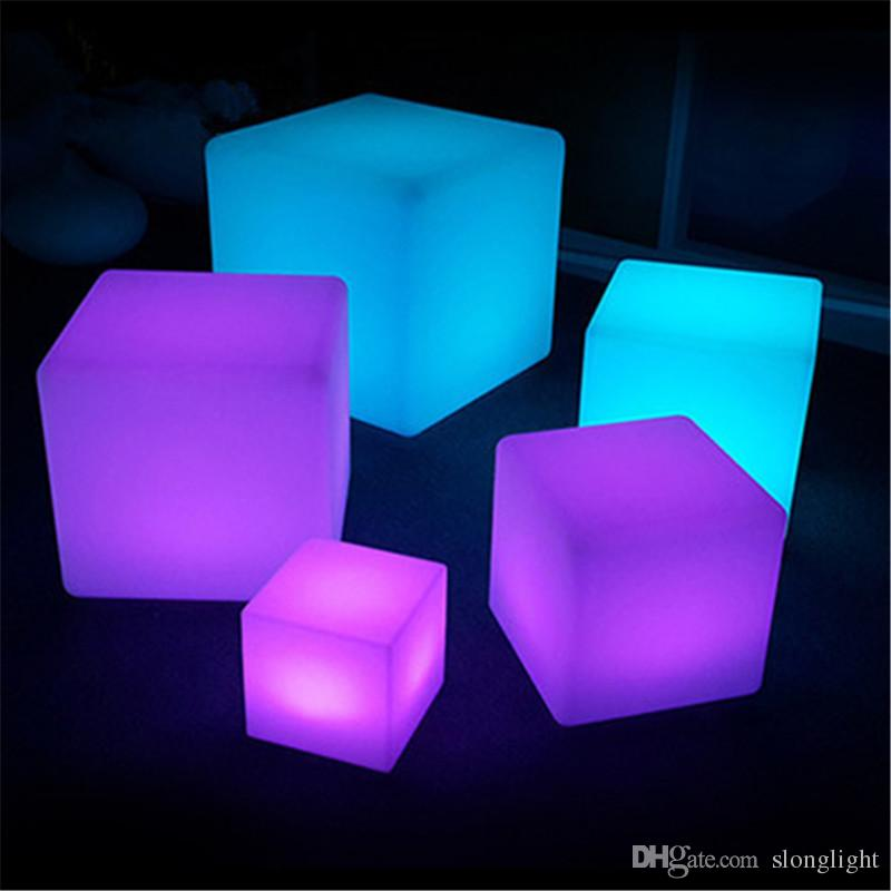 Illuminated furniture led illuminated furniture!waterproof 40*40*40cm led cube with remote  control, ... KYOFSRZ