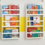 Magazine rack and bookshelf