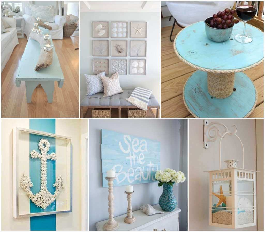 nautical decoration 50 amazing diy nautical home decor projects BRGSIKP