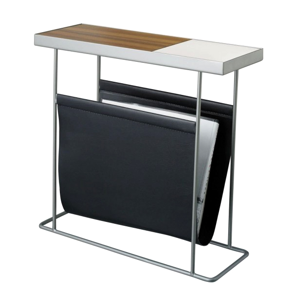 Side table with magazine rack duende/companion with magazine rack (companion magazine rack) MSTWFXI