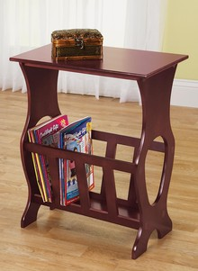 Side table with magazine rack side table magazine rack YJPXIZE