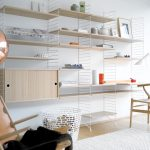 String Shelving System – a shelving system goes around the world