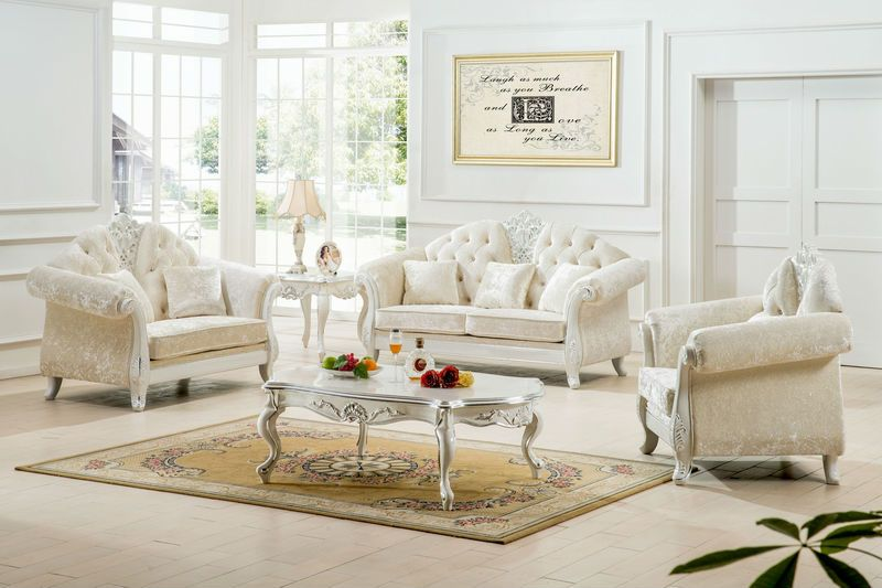 white living room furniture elisa ideas MBWRJJL