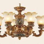 Historic appearance, latest technology: antique chandeliers