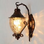 Dream back a few decades with classic antique wall lights