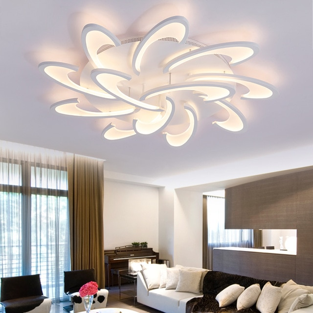 Ceiling lights for the bedroom: Because it's not always dark in the bedroom