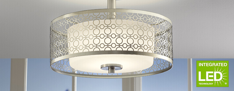 Ceiling lights offer many features for interior design