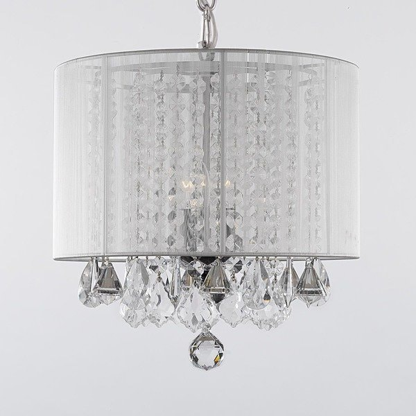 The chandelier with shade – a representative room element