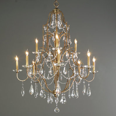 Crystal Chandeliers | Classic, Colored, & Modern - Shades of Light