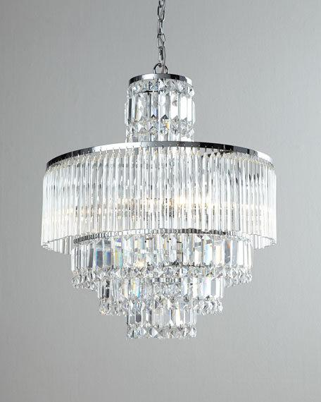 Rossborough 8-Light Crystal Chandelier & Cord Cover