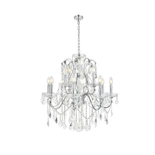Crystal chandelier: charming sparkle guarantee included!