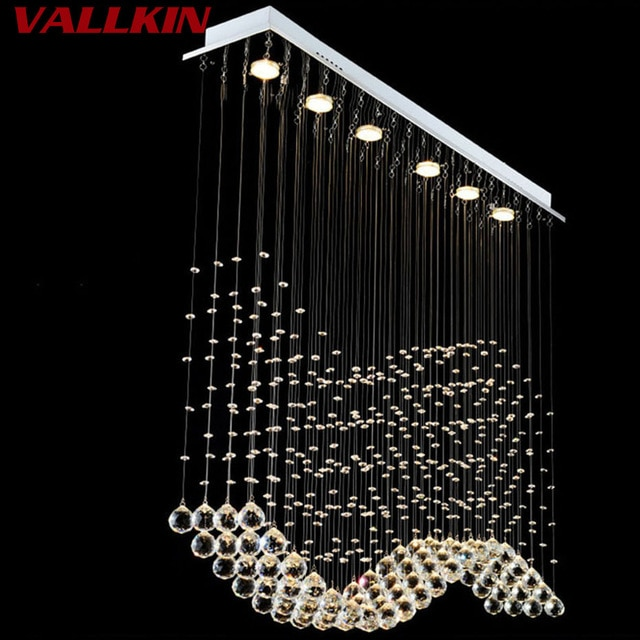 Luxury LED Crystal Pendant Lights Modern Crystal Pendant Light