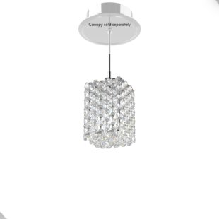 Mini Crystal Pendant Lights | Wayfair